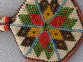 Early 20th Century Crochet Beaded Coin Purse (SOLD)